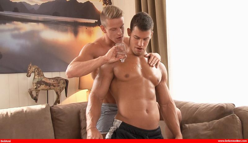 LOVING KRIS: With Kris Evans and Roald Ekberg from Bel Ami