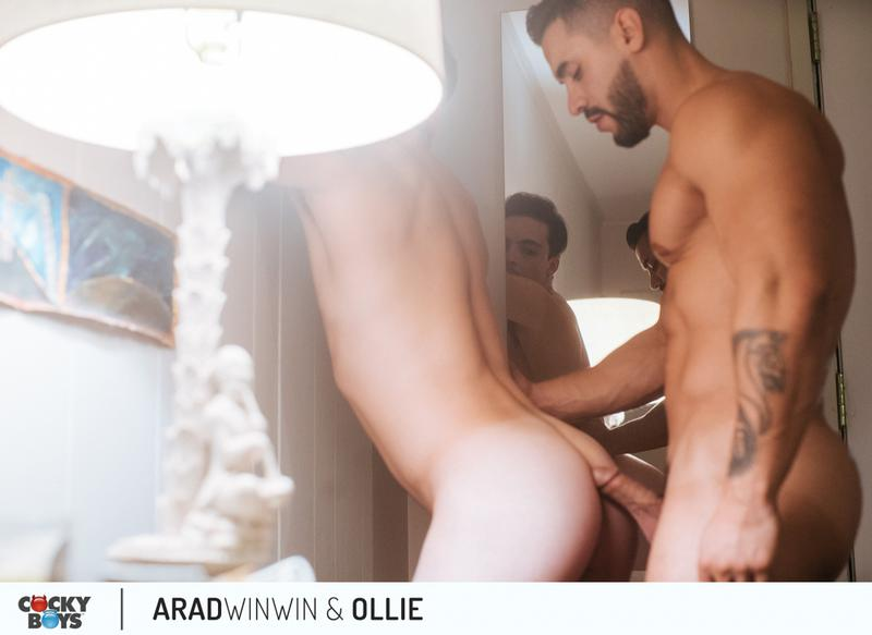 Ollie with Arad WinWin on Cockyboys
